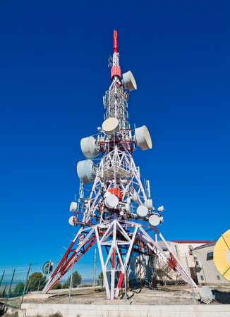 telecommunications industry: Communications tower