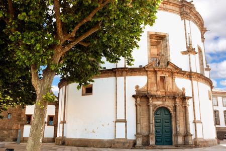 nova: Monastery da Serra do Pilar in Vila Nova de Gaia, Portugal. Stock Photo