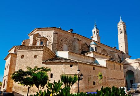 collegiate: Collegiate Santa Maria, Borja, province Saragoza, Aragon, Spain Editorial