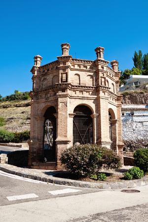 zaragoza: Chapel near cemetery. Tarazona, Zaragoza.