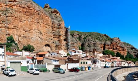 aragon: Los Fayos, Aragon, Spain Editorial
