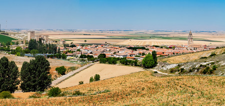 palencia province: Ampudia, Palencia province, Castile and Leon, Spain Stock Photo