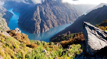 sil: Canyon de Rio Sil, Galicia, Spain