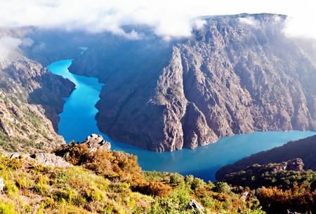 Canyon de Sil, en Galice, Espagne