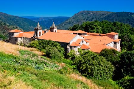 galicia: Santo Estevo Monastery. Galicia, Spain. Stock Photo