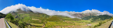 cantabrian: katabatic wind in Cantabrian mountains on border of Asturias and Castile and Leon. Spain