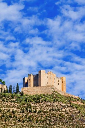 aragon: Castle of Mequinenza. Aragon, Spain Editorial