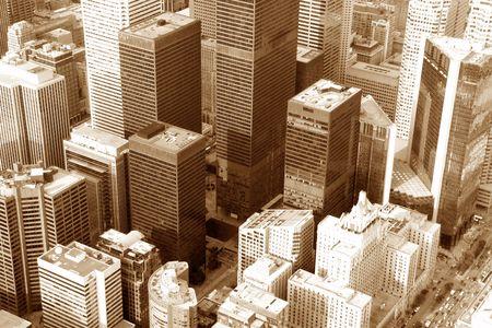 Paysage urbain du passé Banque d'images - 305155