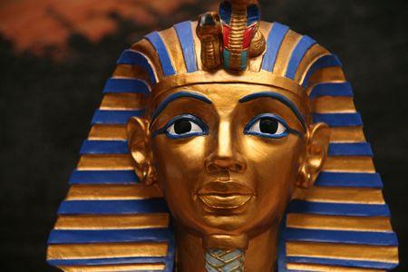 Egyptian pharaoh miniature Archivio Fotografico