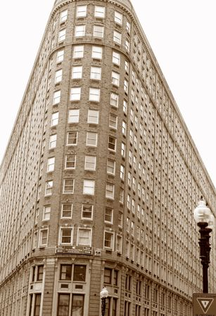 Building rounded corner photo