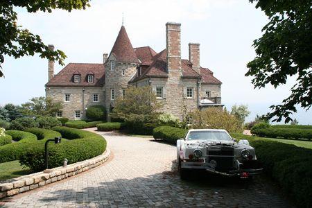 Mansion on the hill Zdjęcie Seryjne