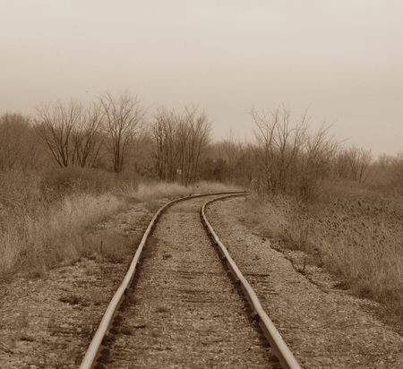 Train Tracks to the past