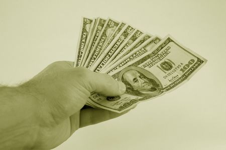 boodle: pay out of american cash