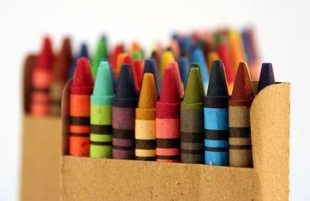 Childrens crayon de la série 1  Banque d'images - 306778