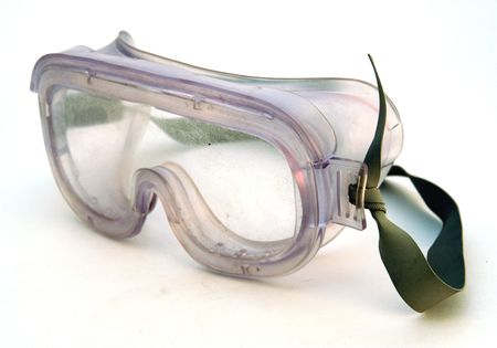 blinkers: safety glasses