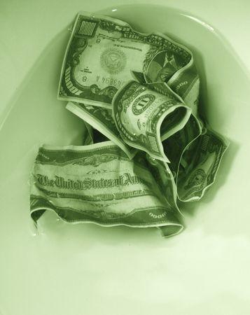 boodle: metaphor - money down the drain 2