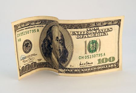 onehundred: american (100) onehundred dollar bill Stock Photo