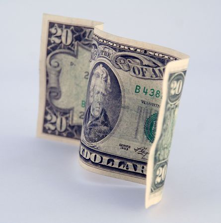 boodle: american (20) twenty dollar bill