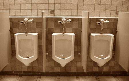 choices at the urinals Zdjęcie Seryjne - 312719