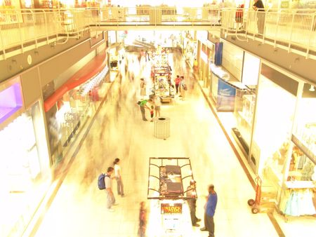 Le centre commercial  Banque d'images - 312670