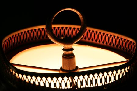 lamp shade: lamp shade Stock Photo