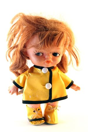 frowzy: messy - angry doll