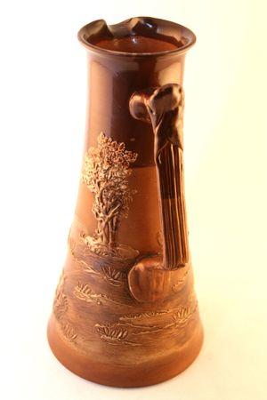 bureta: antiguo florero