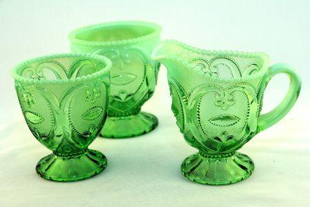 vintage glass work 4