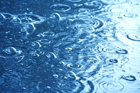 dilute: rain water background