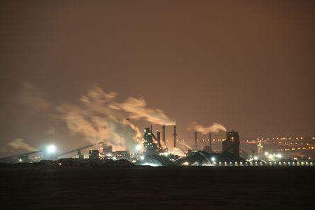 La pollution industrielle  Banque d'images - 312372