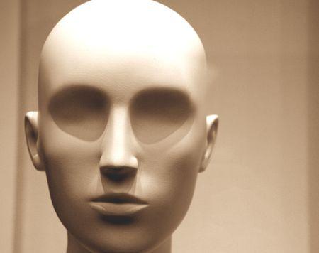 Mannequin à tête grise  Banque d'images - 312369