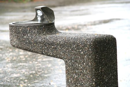 dilute: drinking fountain