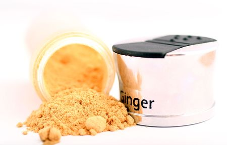 appetize: ginger and shaker Stock Photo