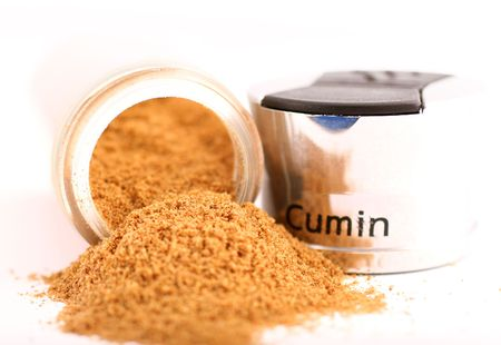 appetize: cumin and shaker Stock Photo