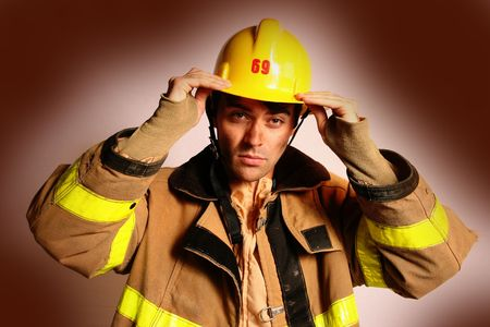 fire fighter: fire fighter or firefighter and fireman