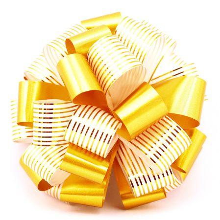 decorative yellow ribbon