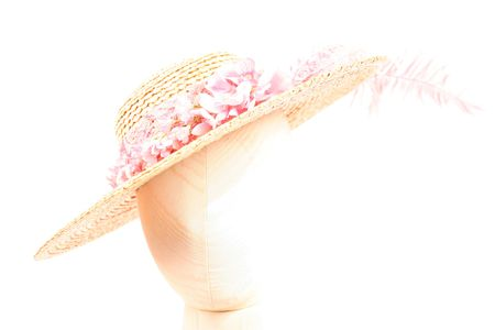 One hat as a part of over two hundred (200) hats for parts on an isolated white background Zdjęcie Seryjne