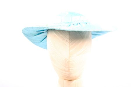 One hat as a part of over two hundred (200) hats for parts on an isolated white background photo