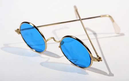 bifocals: stylish sunglasses, part of a collection Stock Photo