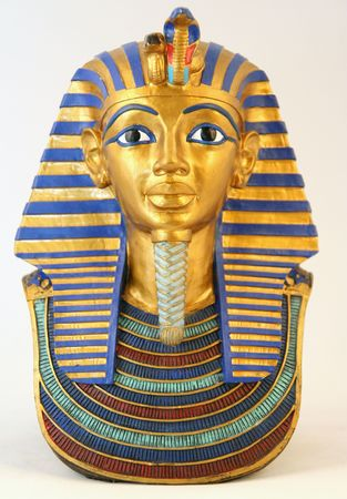 Egyptian antique vintage sphinx from ancient Arab lands in the desert of Arabia
