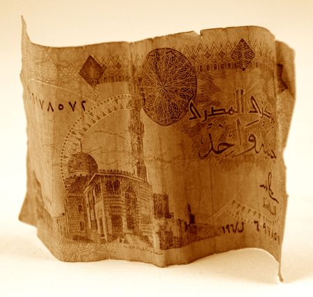 Chinese currency or money from egypt Zdjęcie Seryjne