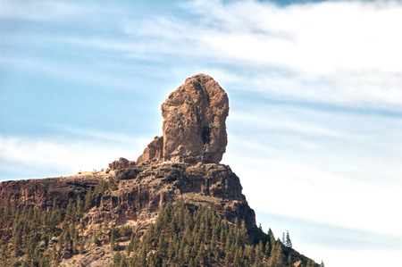 grand canary: A panoramic view of the Nublo rock in Grand Canary island