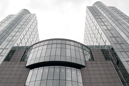 european parliament: A shot of the European Parliament buildings in Brussels Editorial