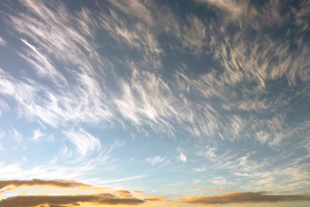 cloudscapes: A cloudscape at the dawn in Lanzarote island