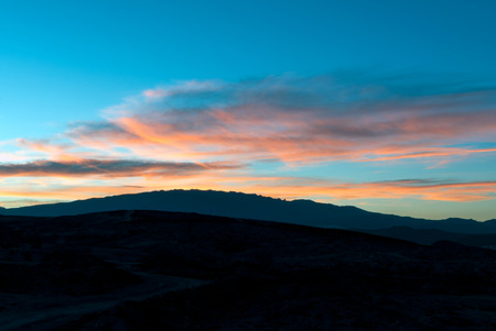 grand canary: A shot of Grand Canary mountains at sunset