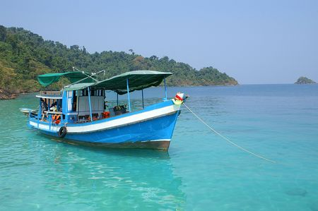 Thai boat photo
