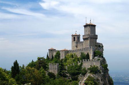 Fortress of san Marino, Italy