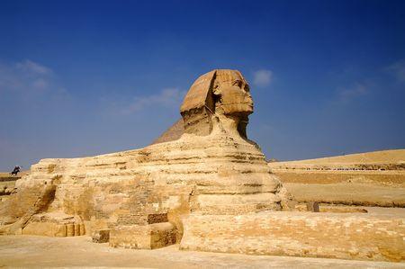 chephren: Sphinx, Giza, Egypt