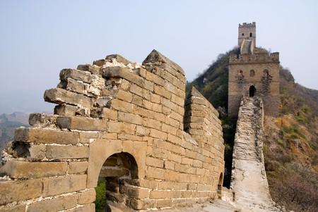 Famous Great Wall at the Simatai near Beijing, China photo