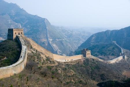ufortyfikować: Znani Wielki Mur w pobliżu Simatai Pekin, Chiny Zdjęcie Seryjne